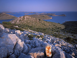 View from Levrnaka Island, Kornati National Park, Croatia, May 2009 Photographic Print by  Popp-Hackner