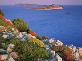 Coastal Landscape, Kornati National Park, Mana Island, Croatia, May 2009. Wwe Indoor Exhibition Photographic Print by  Popp-Hackner