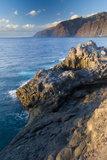 "The ""Gigantes"", Sea Cliffs in the South of Tenerife, Canary Islands, Spain, December 2008 Photographic Print by Relanzón"