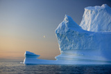 Iceberg, Disko Bay, Greenland, August 2009. Wwe Indoor Exhibition Photographic Print by  Jensen