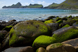 Village Bay Coast, St. Kilda, Outer Hebrides, Scotland, UK, June 2009 Photographic Print by  Muñoz