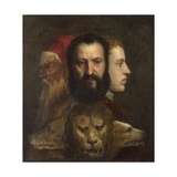 An Allegory of Prudence Giclee Print by  Titian (Tiziano Vecelli)
