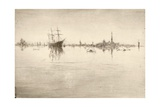 Nocturne Giclee Print by James Abbott McNeill Whistler
