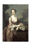 Mary Finch, Viscountess Andover Giclee Print by Thomas Hudson