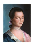 Portrait of Abigail Adams after a Painting Giclee Print by Benjamin Blythe