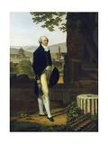 Portrait of Sir Godfrey Vassall Webster Giclée-tryk af Louis Gauffier