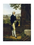 Portrait of Sir Godfrey Vassall Webster Giclee Print by Louis Gauffier