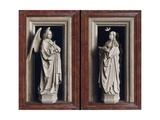 The Annuciation Diptych Giclee Print by  Jan van Eyck