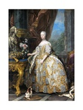 Marie Leszczinska, Queen of France Giclee Print by Charles Van Loo