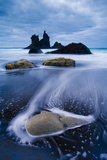 Wild Coast with Sea Stacks on a Stormy Day, Benijo, Anaga Peninsula, Tenerife, Spain Photographic Print by Relanzón