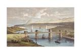 Britannia Tubular Bridge Giclee Print