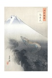 Dragon Rising to the Heavens Giclee Print by Ogata Gekko