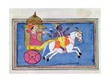 Arjuna and Krishna Giclee Print