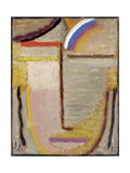 Abstract Head Giclee-trykk av Alexej Von Jawlensky
