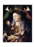 Salting Madonna Giclée-tryk af Antonello da Messina