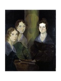 The Bronte Sisters Giclee Print by Patrick Branwell Bronte