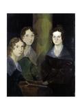 The Bronte Sisters Lámina giclée por Patrick Branwell Bronte