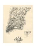 Plan of the City of New York Giclee Print by Bernard Ratzer