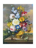 Floral Still-Life Giclee Print by Anton Hartinger