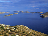 View from Levrnaka Island to the South, Kornati National Park, Croatia, May 2009 Photographic Print by  Popp-Hackner