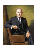 President Dwight D. Eisenhower Giclee Print by James Anthony Wills