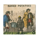 Baked Potatoes Giclee Print by T.H. Jones