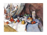 Still Life with Apples Giclee Print by Paul Cezanne