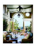 Architectural Digest Photographic Print by Frances Scott
