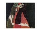 Cardinal and Nun (Tenderness) Giclee Print by Egon Schiele