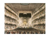 Interior of the Covent Garden Theatre, London Giclee Print by Thomas Rowlandson