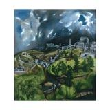 Blick auf Toledo Giclée-Druck von  El Greco