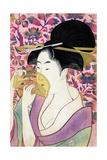 Kushi (Comb) Giclee Print by Kitagawa Utamaro