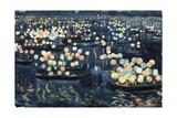 Festa Del Redentore (Festival of Light, Venice) Giclee Print by Maurice Brazil Prendergast