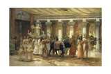 The Procession of the Sacred Bull Apis Giclee Print by Frederick Arthur Bridgman