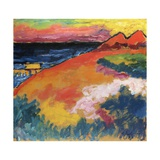 At the Baltic Sea Giclee Print by Alexej Von Jawlensky