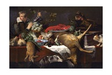 Pantry Scene with Servant Giclee Print by Frans Snyders