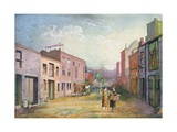 Artists' Colony in Early Greenwich Village Giclee Print