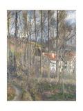 Pontoise - the Cite Des Boeufs and the Hermitage Reproduction procédé giclée par Camille Pissarro