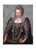 Anonymous Portrait of Queen Elizabeth I Giclee Print