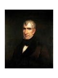 Portrait of President William Henry Harrison Giclee Print by James Reid Lambdin