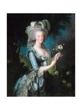 Marie-Antoinette with a Rose Giclee Print by Elisabeth Vigee-Lebrun
