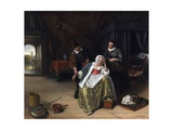 The Lovesick Maiden Giclee Print by Jan Steen