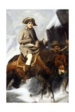 Napoleon Bonaparte Crossing the Alps in 1800 Giclee Print
