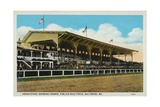 Postcard of Grand Stands at Pimlico Race Track Giclee Print