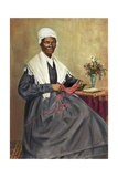 Illustration of Sojourner Truth after a Photograph Reproduction procédé giclée