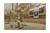 Print after Pollice Verso Giclee Print by Jean Leon Gerome