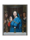 The Virgin Adoring the Host Giclee Print by Jean-Auguste-Dominique Ingres