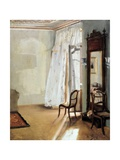 The Balcony Room Giclee Print by Adolph von Menzel