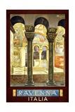 Ravenna Travel Poster Giclee Print