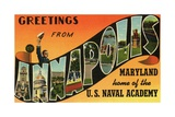 Greeting Card from Annapolis, Maryland Giclee Print